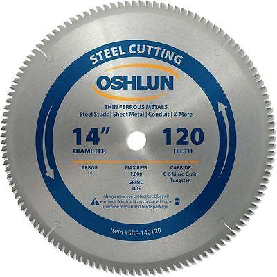 Saw Blade Circular Metal Cutting 14 X 1 X 120t