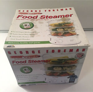 George Foreman food steamer Boronia Knox Area Preview