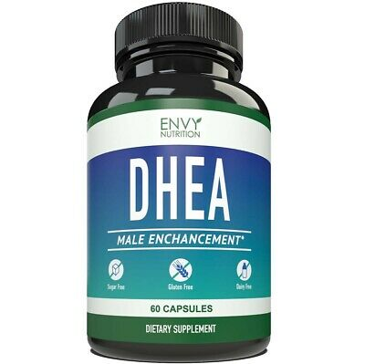 Envy Nutrition DHEA Male Enhancement Capsules - Best Supplement for Youthful (Best Nutrition For Men)