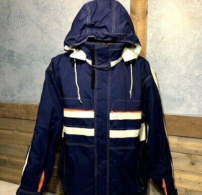 Marker Snowboard Ski Jacket Cargo Waterproof Liner Jacket Mens L EUC Cleaned 386