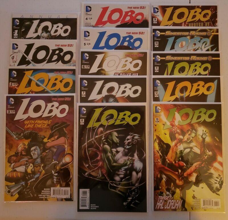 Lobo (2014-2016, DC Comics) 13 Issues + Annual