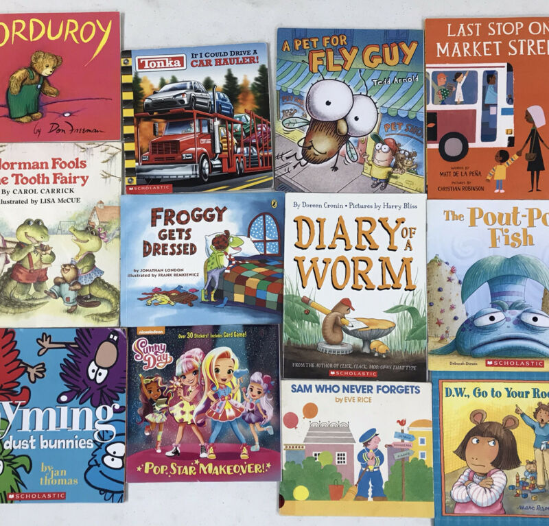 Story Time Assorted Bundle / Lot of 20 Kids/Toddlers/Daycare Books RANDOM MIX