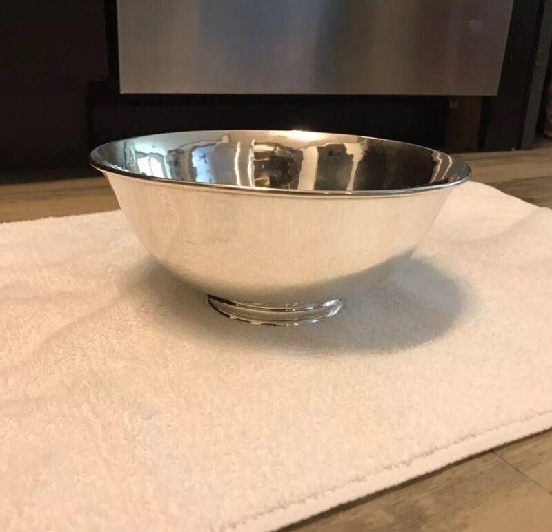 Arthur Stone (T) Large Revere Bowl Sterling Silver 17.7+ozt No Mono