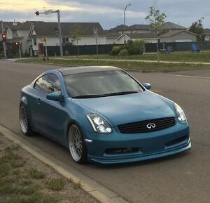 G35 coupe 461whp Greddy twin turbo