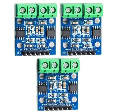 3x Hbridge Stepper Motor Dual Dc Motor Driver Controller Hg7881 For Arduino