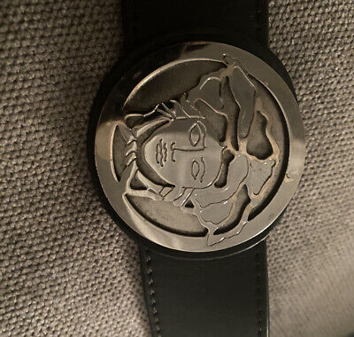 Men's Medusa Versace Leather Belt
