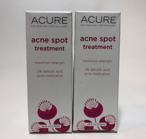 ACURE Natural Acne Spot Treatment with 2% Salicylic Acid fro