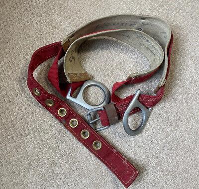 Sky Genie Linemans Pole Climbing Belt Harness. Descent Control Inc. Vintage