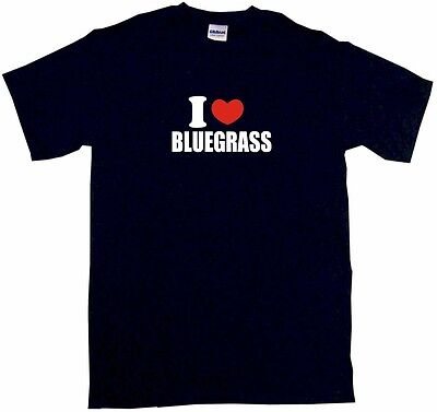 I Heart Love Bluegrass Mens Tee Shirt Pick Size Color Small 6XL S/S L/S Tank ()