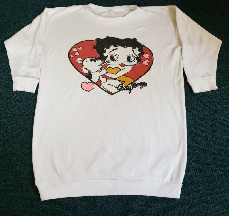 Vintage 90s Betty Boop Sleepwear OSFA