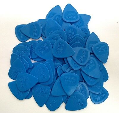 Dunlop Guitar Picks  Nylon MIDI  72 Pack  1.07mm  Blue