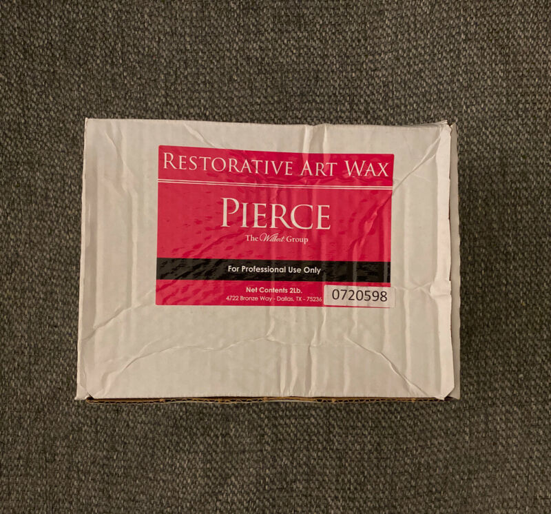 Pierce Restorative Art Wax 2lbs - For Professional Use Only - Brand New