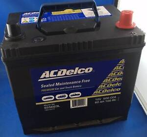 NEW AC DELCO S 55D23L SMF 500CCA CAR / TRUCK BATTERY Morningside Brisbane South East Preview