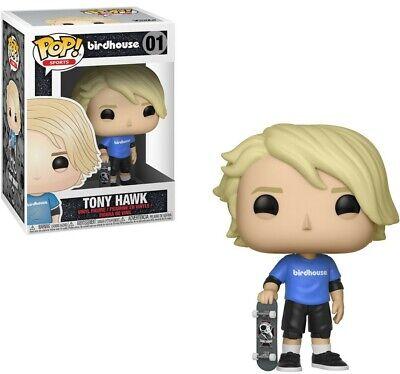 Funko Pop Tony Hawk Birdhouse Skateboard Vinyl Collectible Figure Toy New - MINT