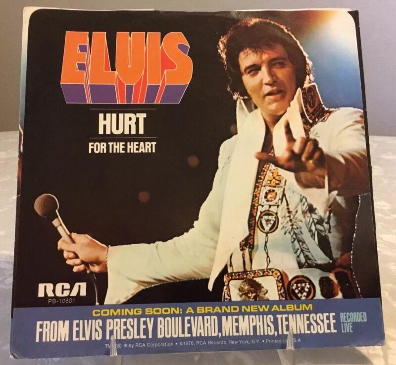 Elvis PB-10601 Hurt / For THe Heart 45 Sleeve