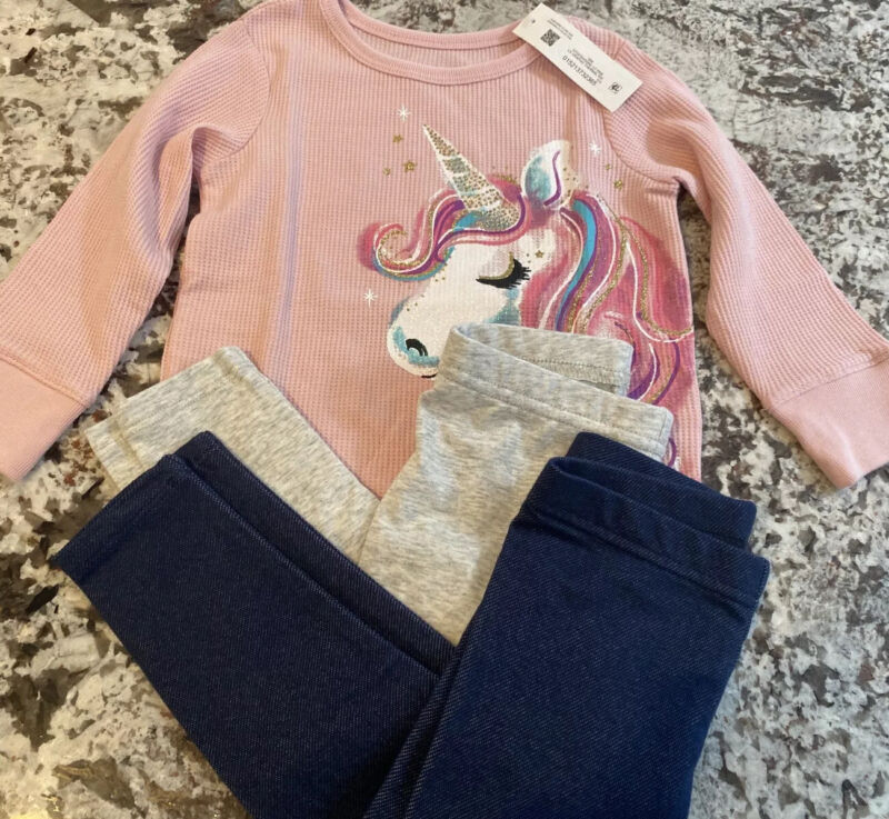 Nwt Toddler Girl 3 Piece Clothing Lot Size- 18 Months
