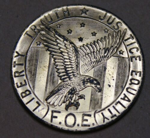 Vintage 1948 Fraternal Order of Eagles 50th Anniversary Coin