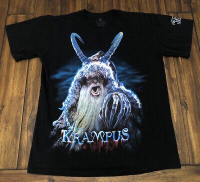 Halloween Horror Night Movie (Krampus Horror Scary Movie T Shirt Halloween Horror Nights 2016 Rare)