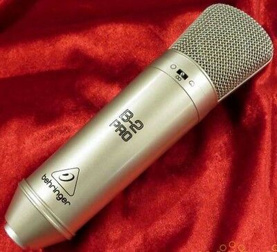 Used BEHRINGER B-2 PRO Dual Diaphragm Studio Condenser Microphone from Japan F/S