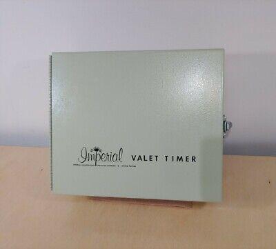 Vtg Imperial Valet Timer 6 Station Automatic Sprinkler Control w Mounting Screws