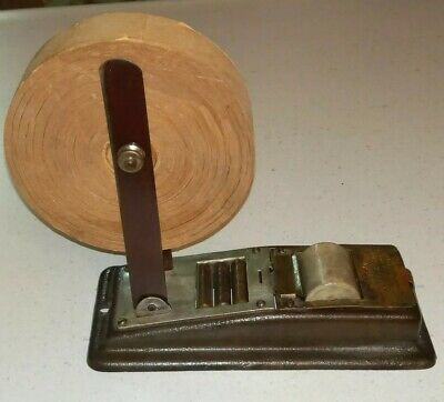 Vintage Parsul Gummed Tape Dispenser Seymour Products Co. Rare