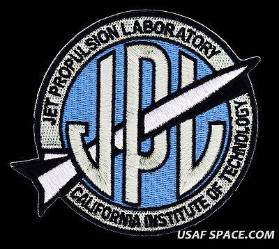 """ORIGINAL - JPL - OFFICIAL 4.25"""" Cloth Back SPACE EXPLORATION PATCH - MINT"""