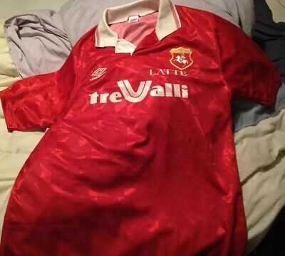 Ancona (italy) Home Football Shirt 1992 XL image