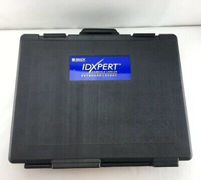 Brady Idxpert Handheld Keyboard Layout Commercial Portable Label Maker Case R03