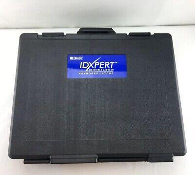 Brady Idxpert Handheld Keyboard Layout Commercial Portable Label Maker Case R03