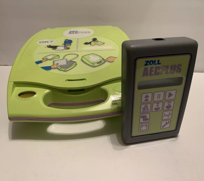 Zoll AED Plus 2 Fully Automatic Training Unit - Complete In Box