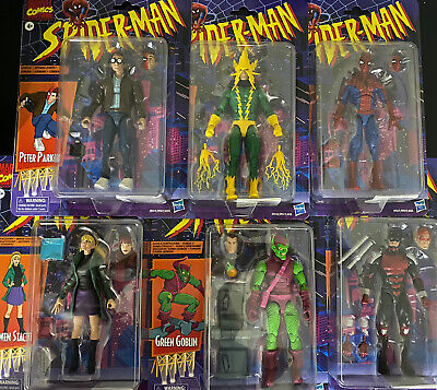 Spider-Man Retro Marvel Legends 6-Inch Action Figures Wave 1 New In Stock!!!