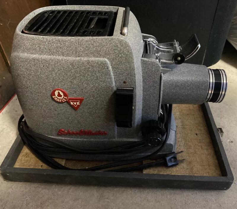 Vintage Graflex SVE Schoolmaster 500 Portable Slide Projector with Case Working