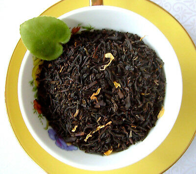 Naturally Flavored Black Tea - Tea Apricot Flavored Loose Leaf Aged Asian Black Loose Tea Blend Pure Natural