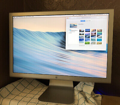 Apple Cinema Display A1081 20 Inch With Stand And PSU