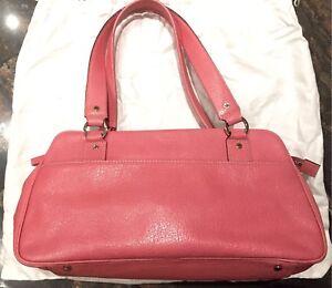 Kate Spade pink leather handbag purse