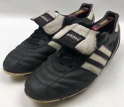 Vintage Adidas Kaiser 5 Football Boots SIZE 8 Moulded Rubber Studs