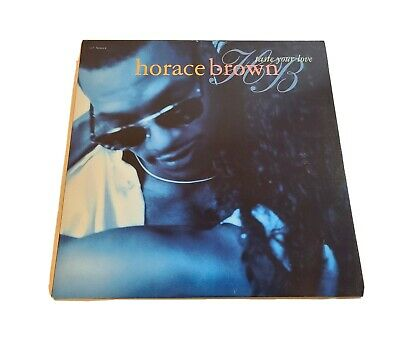 Horace BrownTaste Your Love Hip Hop RnB Funk New Jack Swing Vinyl LP Album B13