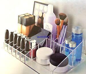 LARGE Kardashian Makeup Storage Organiser Acrylic Brush Lipstick Cosmetic Holder
