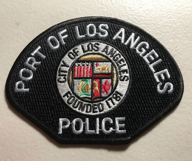 Port Of Los Angeles California Police Department Patch Ca