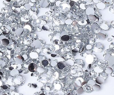 10g Clear mixed rhinestones