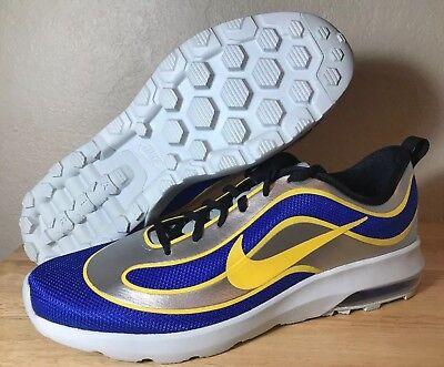 new product f68da 30815 Nike Air Max Mercurial  98 QS SZ 12 Racer Blue Varsity Maize Mens New  850649-470