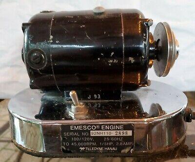 Emesco Belt Driven Lab Engine Dental Drill Motor Bin151