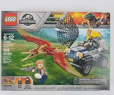 New LEGO 75926 Jurassic World Pteranodon Chase 126 Piece Building Kit