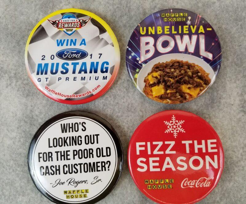 LOT 4 Waffle House 2017 Mustang Unbelieva-Bowl Joe Rogers Sr Fizz The Season Pin