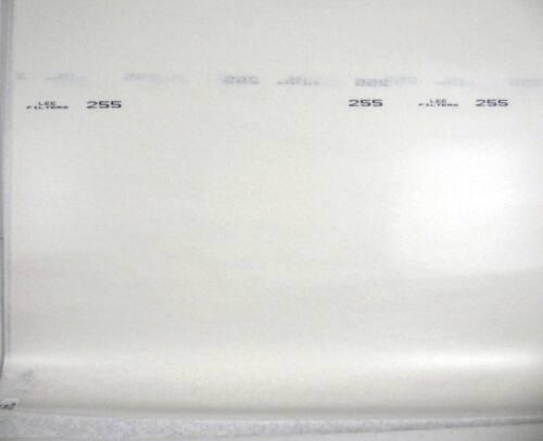 "Lee Filters Lighting Gel Sheet 255 Hollywood Frost 24"" x 21"""