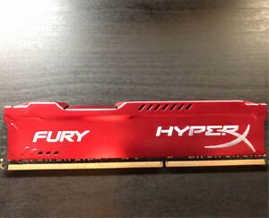 8gb stick 1866mhz Kingston Fury HyperX RAM DDR3