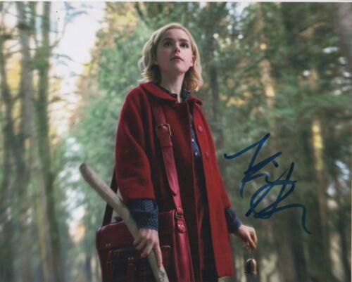 Kiernan Shipka Chilling Adventures Sabrina Autographed Signed 8x10 Photo COA 01H