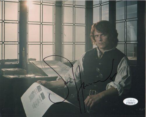 Sam Heughan Outlander Autographed Signed 8x10 Photo JSA COA #C64