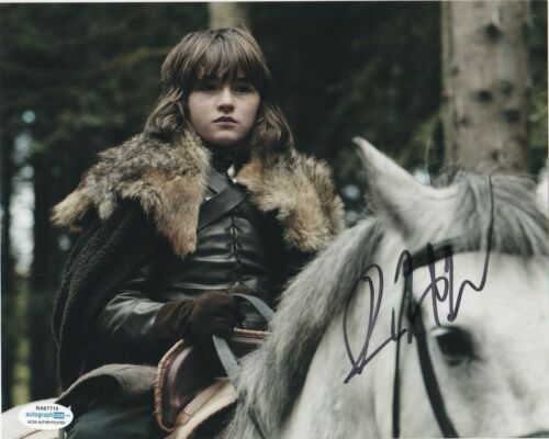 Isaac Hempstead Wright Game of Thrones Autographed Signed 8x10 Photo ACOA MA8