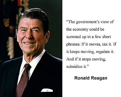 President Ronald Reagan  Quote 8 x 10 Photo Picture #h1